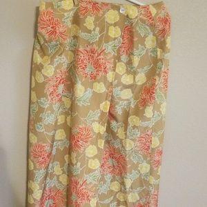 Worthington wrap around skirt